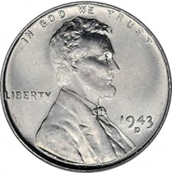 1943 Lincoln Steel Penny